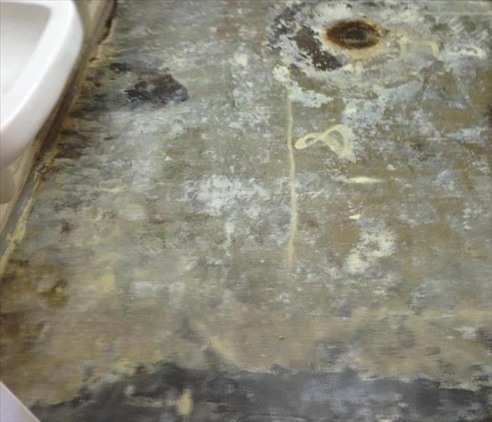 Water Damage to a commercial building After