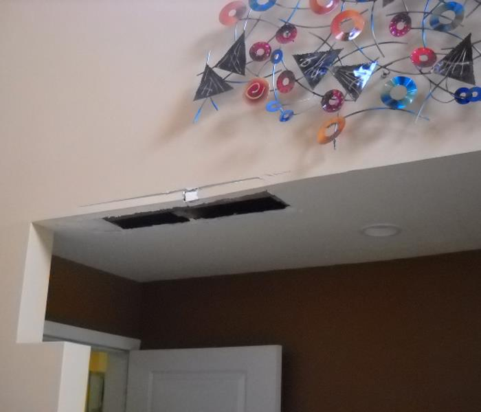 Water Damage Repair San Diego Before